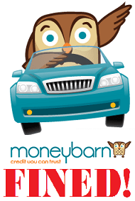 Mis Sold Car Finance Moneybarn Fined Blog Logo